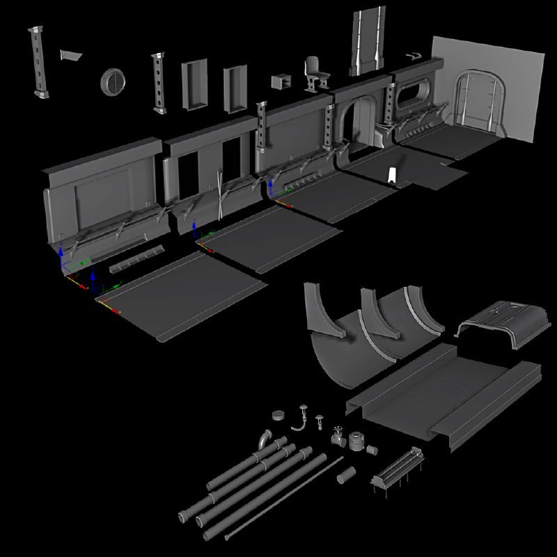 My First UDK scene Fallout Vault 0 - Environment - Polycount Forum http://www.polycount.com/forum/showthread.php?t=125643