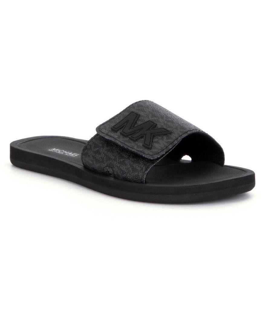 Buy michael kors flip flops grey > OFF78% Discounted
