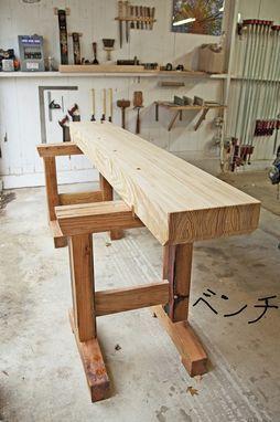 Custom Made Japanese Inspired Workbench Work Bench Pinterest