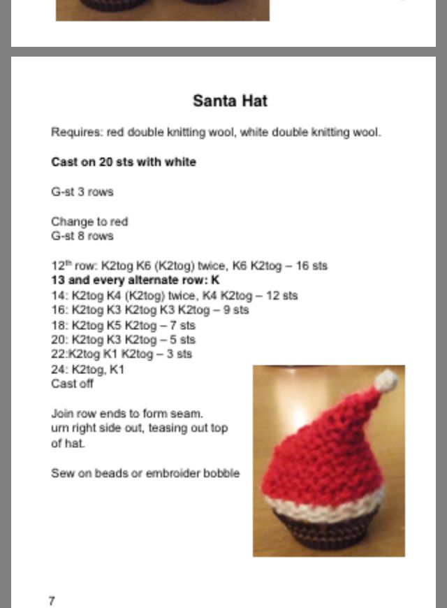 Made to fit a Ferrero Rocher chocolate | Christmas knitting patterns free, Handmade christmas ...