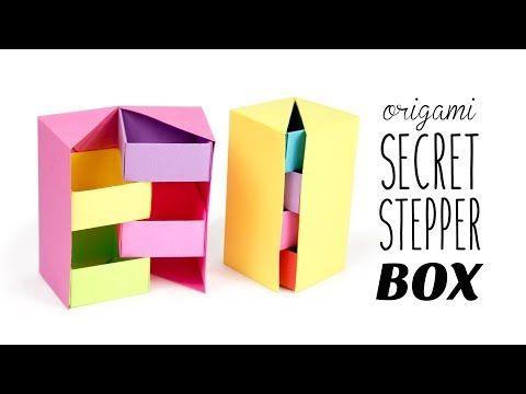 Photo of Origami Secret Stepper Box Tutorial – Papier Kawaii