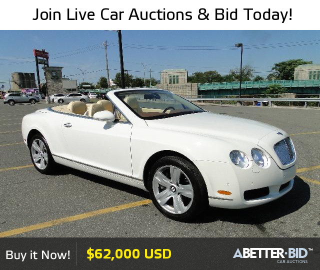 Salvage 2008 BENTLEY ALL MODELS For Sale