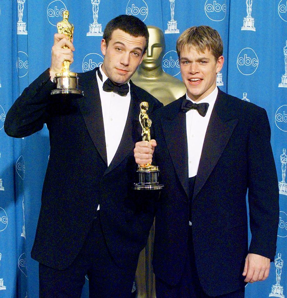 My First Time At The Oscars Ben Affleck Hollywood Actor Matt Damon