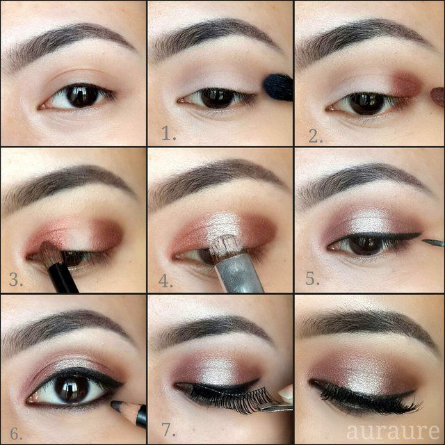How To Apply Bridal Makeup Like A Pro : makeup for brown eyes step by step - Google Search Make ...