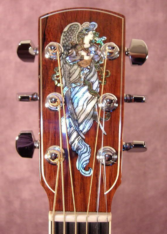 Send Me Your Finest Headstock Inlays Acoustics And