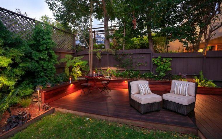 plantas diseño mobiliario velas cojines decoracion Pinterest - decoracion de terrazas con plantas