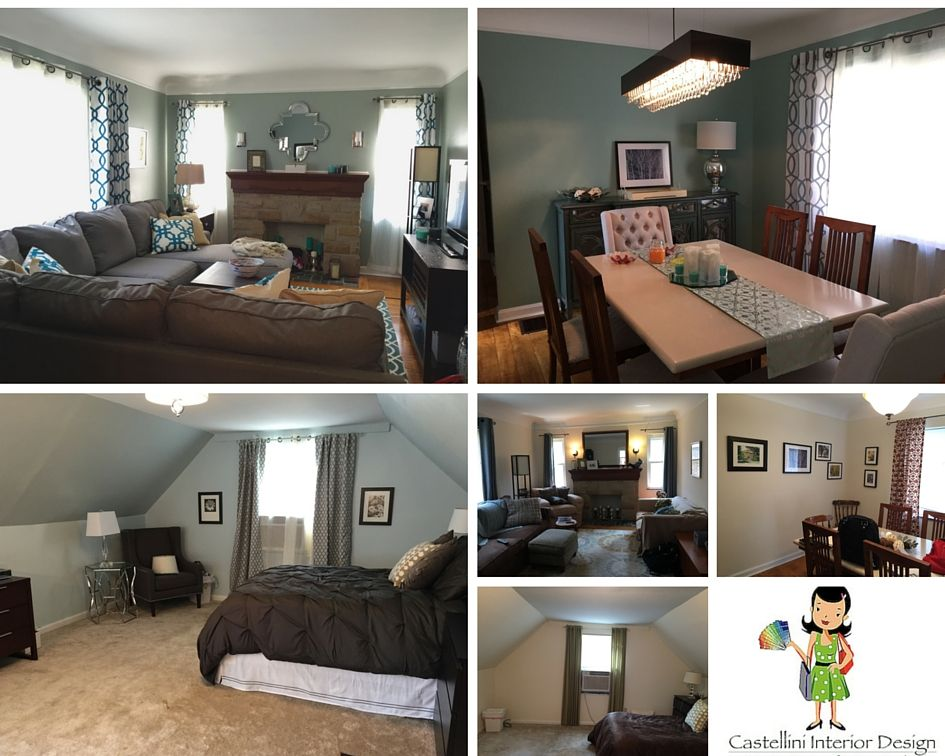 Castellini Interior Design Cincinnati Ohio Whole Home Makeover