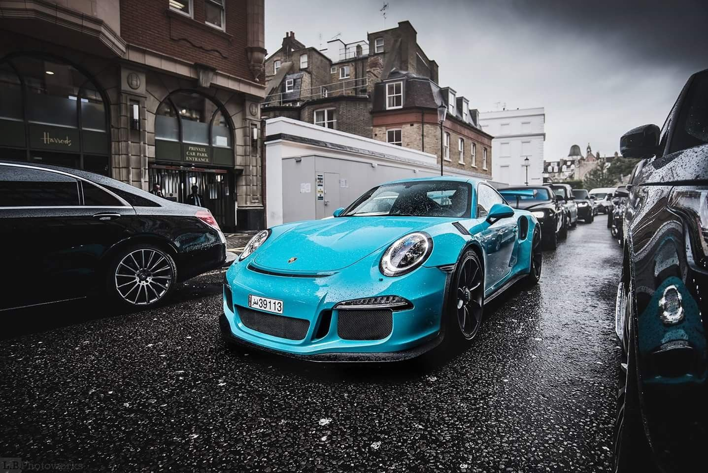 Miami Blue Sky Blue GT3 RS Porsche