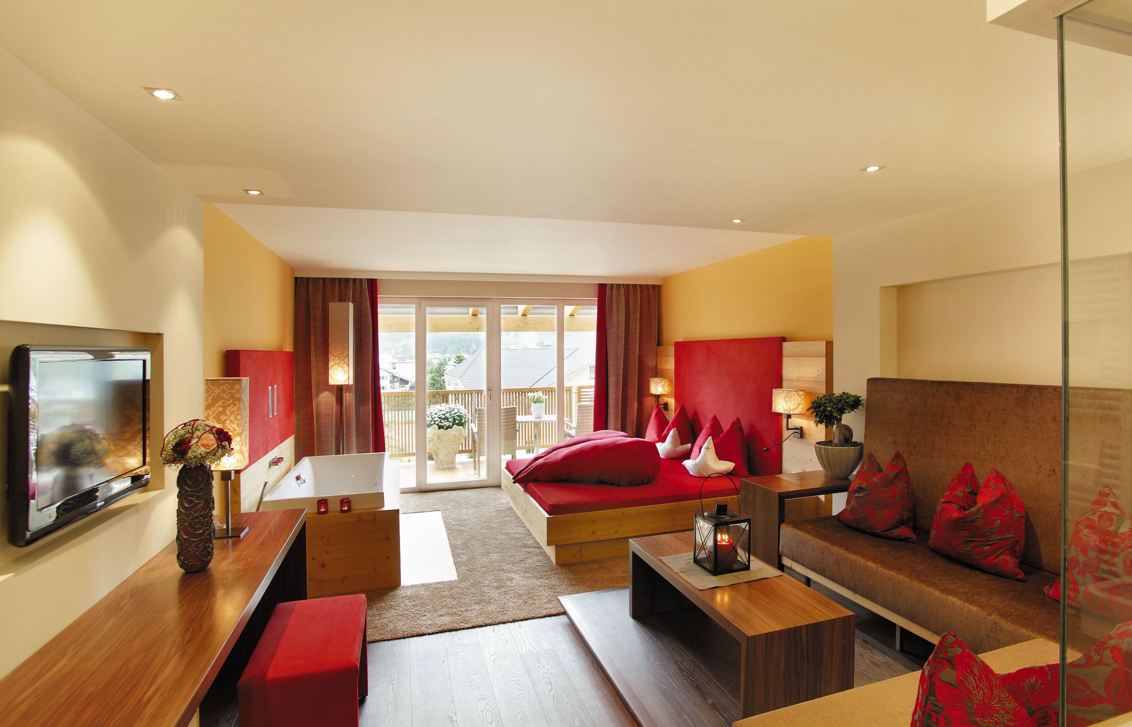 Luxeriöse Zimmer und Suiten