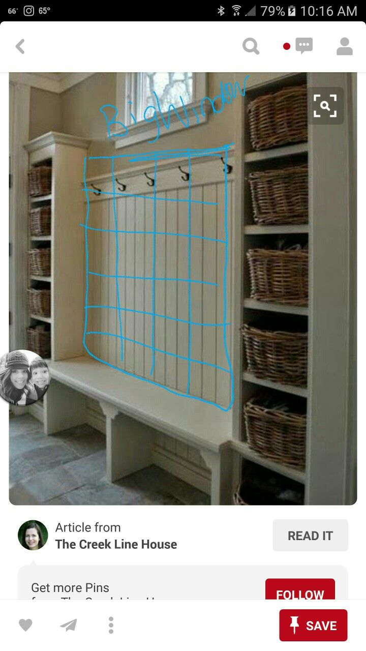 Hallway storage trunk  Bottom of stairs  home organization ideas  Pinterest  Mud rooms
