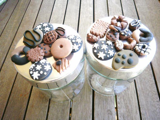 Biscotti Bambini ~ Barattolo biscotti in fimo cernit cucina fimo biscotti e cucina