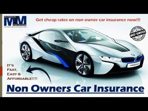 Car Insurance Quotes Online Interesting Cheap Car Insurance For Non Owner Drivers Offers Instant Quotes .