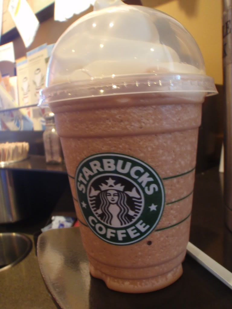 Butterbeer Frappuccino Description: White chocolate creme ...