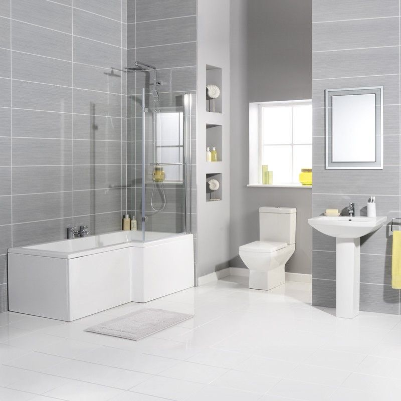 Tabor 1700 Bathroom Suite Including Taps and Waste   Daisy st ...