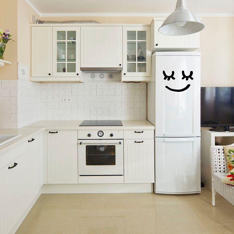 vinilos para nevera y decoraci n de cocinas by chispum