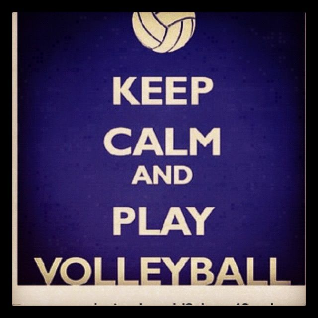 Love volley ball!!! <3