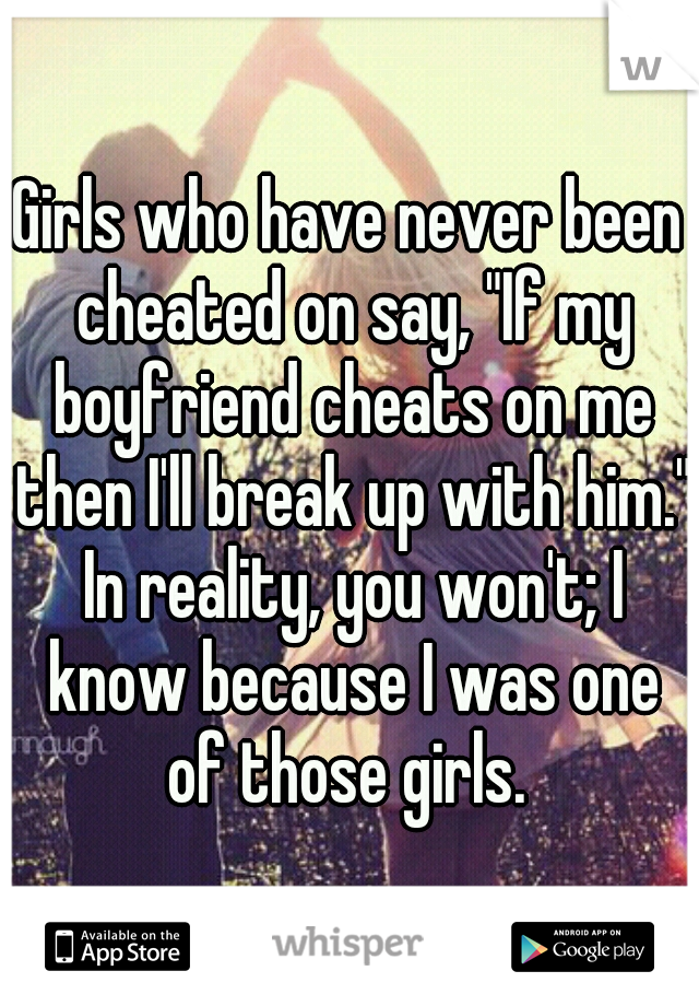 When A Man Has Been Cheated On