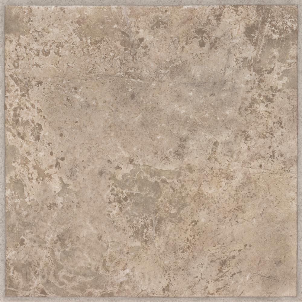 Armstrong Ridgedale Sand 12 In X 12 In Residential Peel And