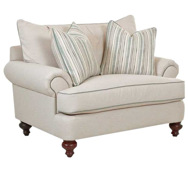 I Love The Regal Look Of This Side Chair! The Legs Of This