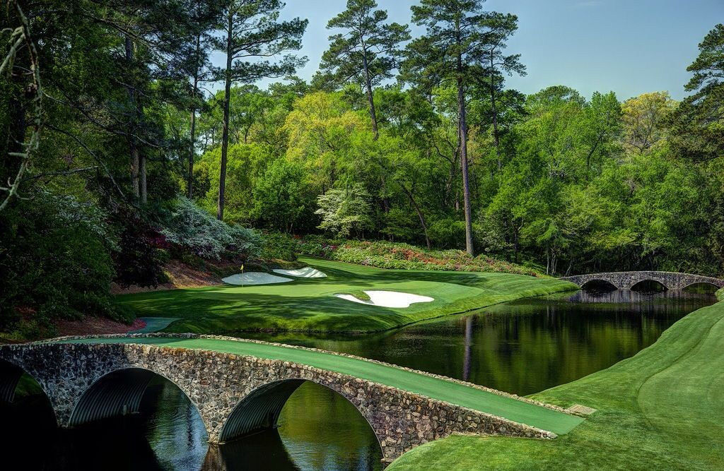 Augusta National 12th Hole. Golf courses, Augusta