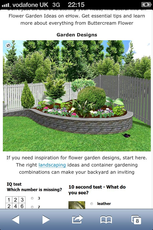 Beau Image Detail For  Small Backyard Landscaping Ideas