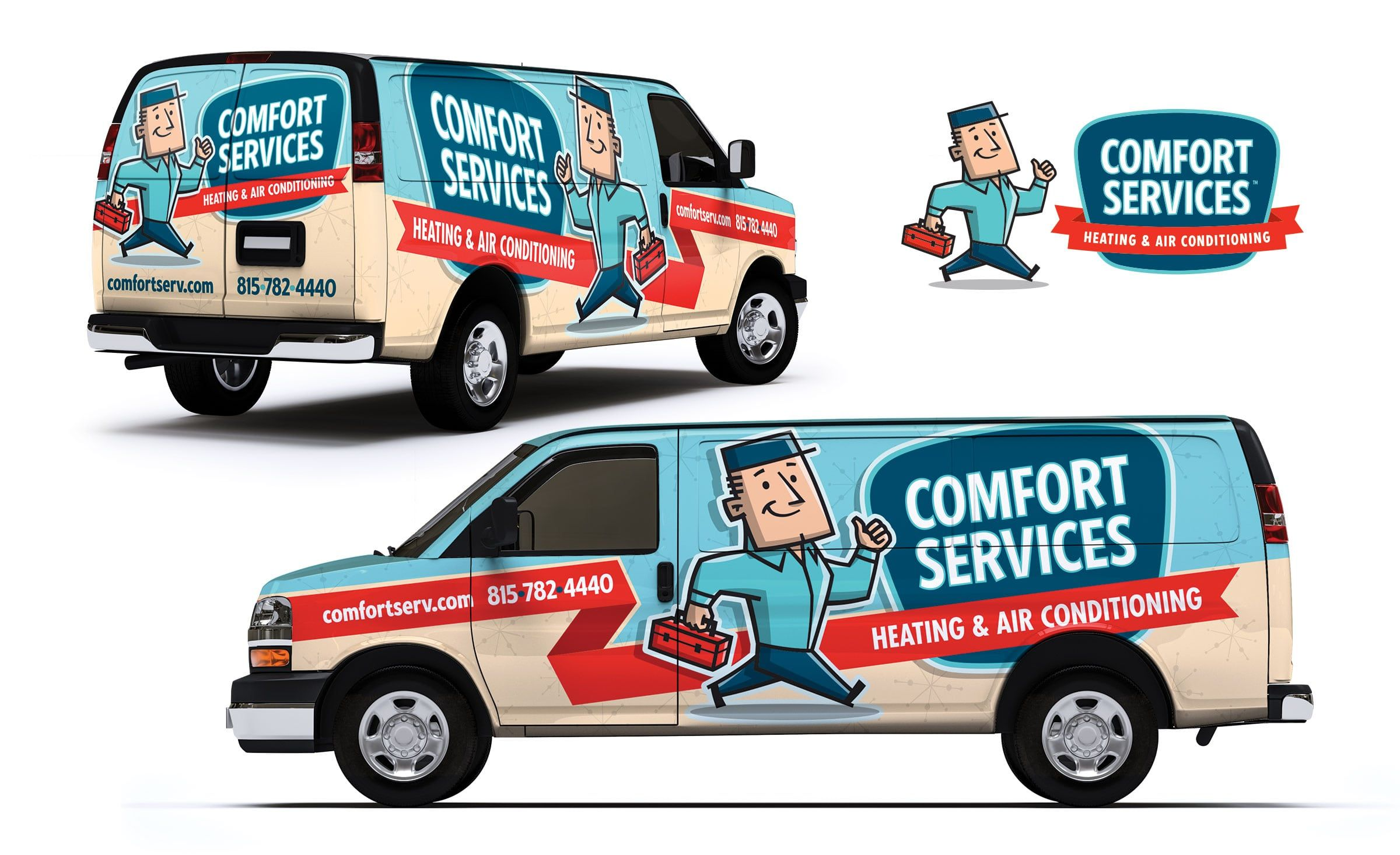 Comfort Services Heating Air Conditioning Kickcharge Creative
