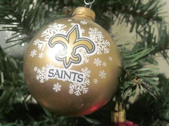 New Orleans Saints Christmas Ornaments.New Orleans Saints Christmas Ornaments My New Orleans