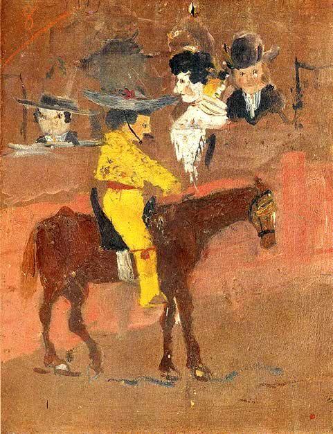 Picasso-le-petit-picador-jaune-otoart