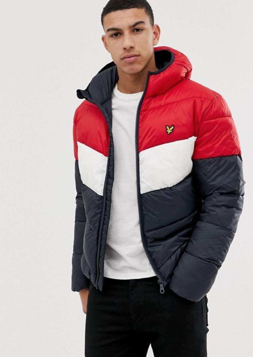 For Sale Mens Lyle Scott Mens Colour Block Puffa Jacket Dark Navy Mens Puffer Jacket Mens Black Jacket Mens Jackets [ 1164 x 826 Pixel ]
