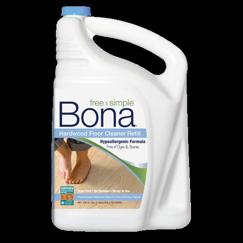 Bona Free Simple Hardwood Floor Cleaner Refill 160 Oz Floor Cleaner Hardwood Floor Cleaner Bona Floor Cleaner