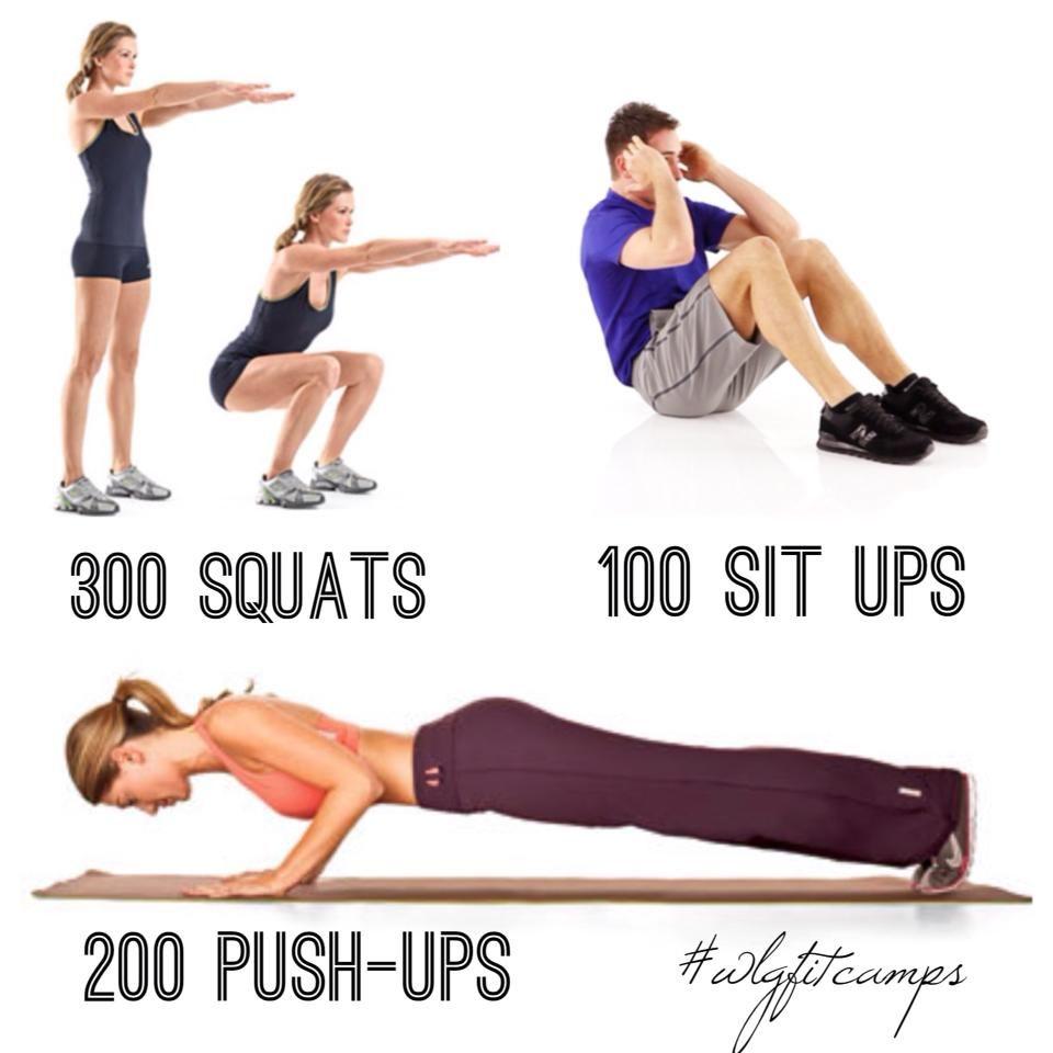 Workout Like A Girl Murph!