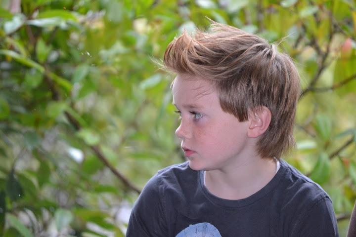 Peinado Comunión niño 2013