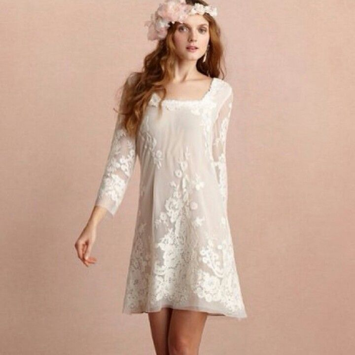 Would Be A Beautiful More Casual Wedding Dress Love It My Style