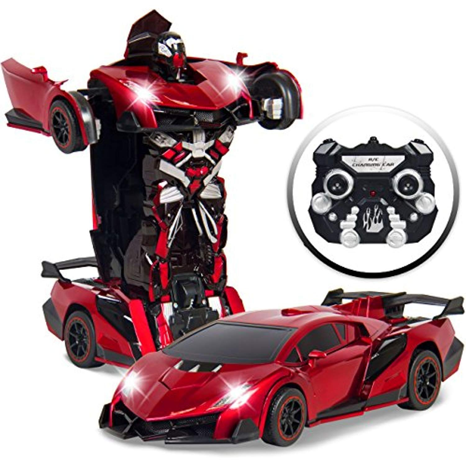 Best Choice Products Transforming Rc Remote Control Robot Drifting