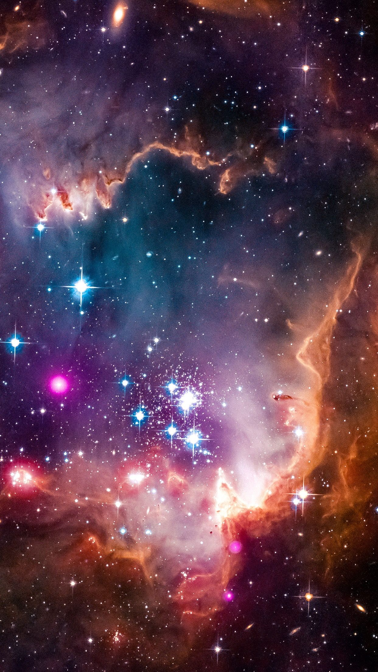 Space Galaxy Vertical Portrait Display 1080p Wallpaper Hdwallpaper Desktop Hubble Space Telescope Nebula Spitzer Space Telescope