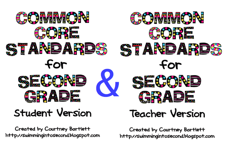 Swimming Into Second: Common Core Standards for 2nd grade | 2nd ...