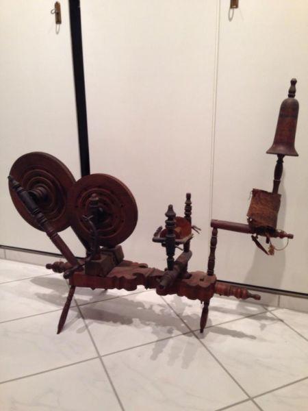 Spinnrad sehr gut erhalten in Nordrhein-Westfalen - Gelsenkirchen | Kunst und Antiquitäten gebraucht kaufen | eBay Kleinanzeigen