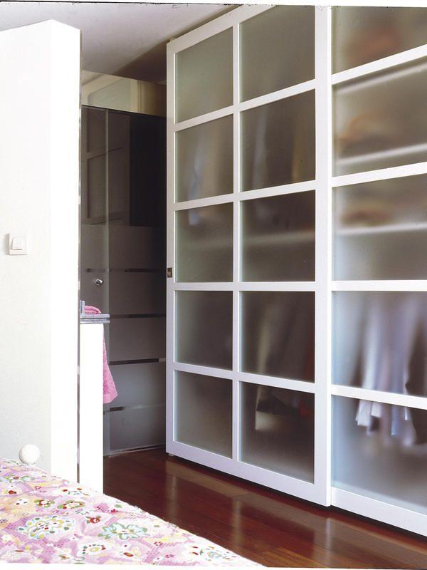 Armarios de todos los estilos para cualquier dormitorio o - Cristales al acido para puertas ...