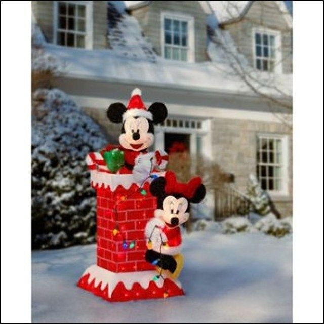 disney outdoor christmas decorations - Disney Outdoor Christmas Decorations