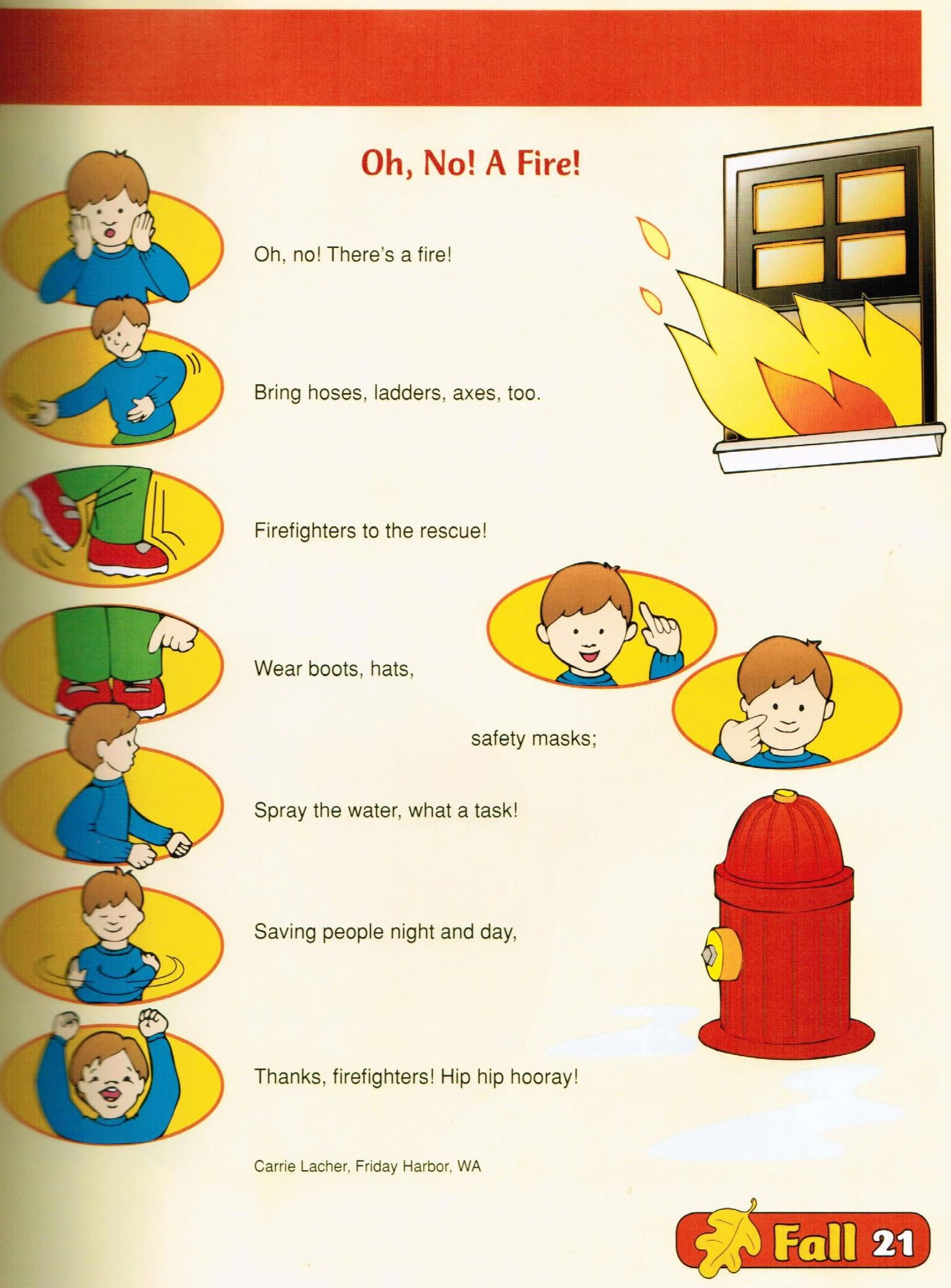 Pin by Rene Herman on sight word poem Pinterest Fire