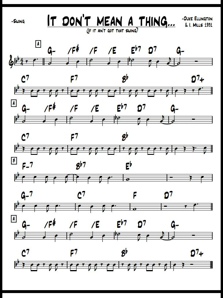 Pin By Ron Coluccio On Swing Sheet Music Saxophone Sheet Music
