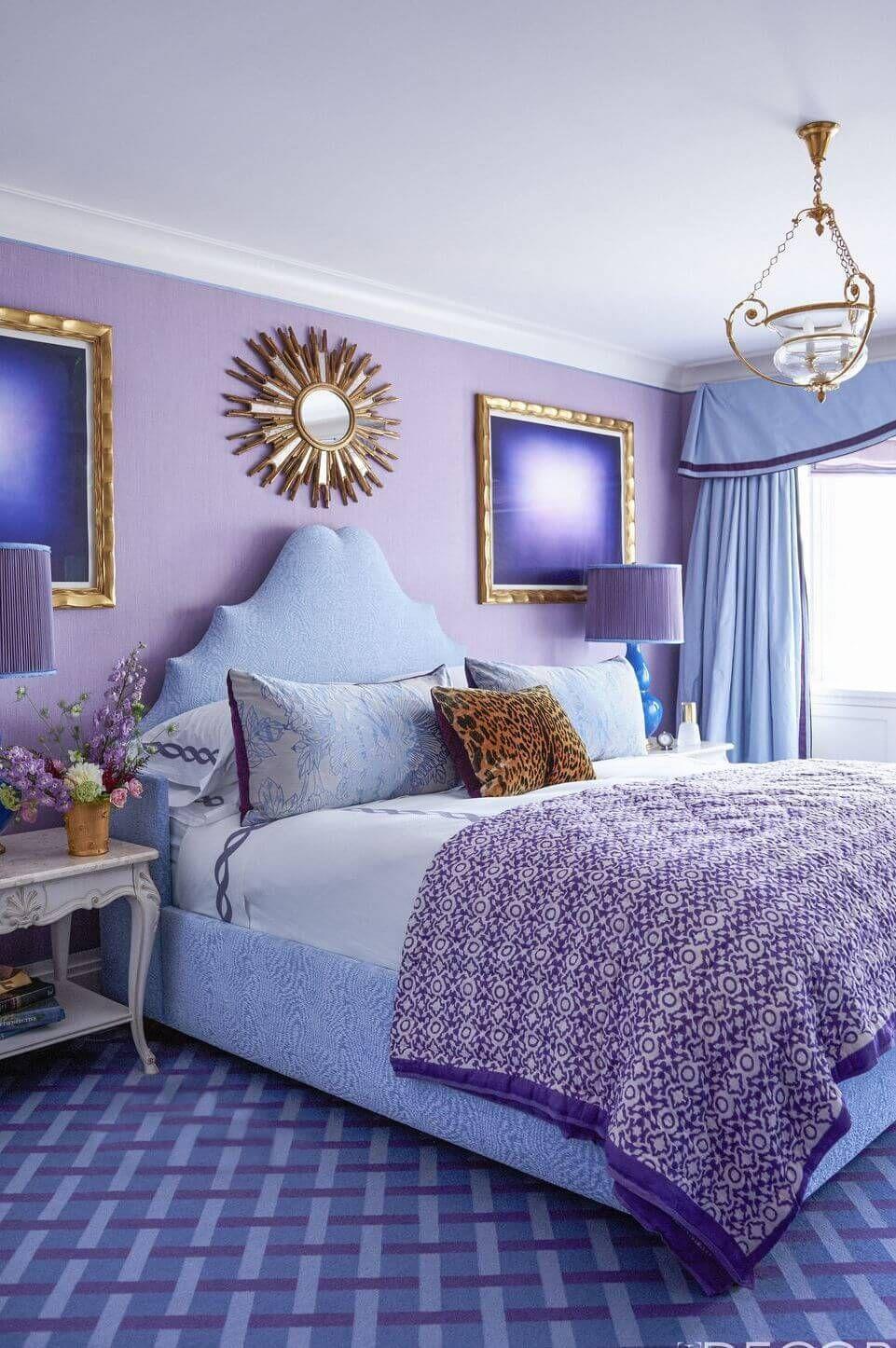 10 Purple Bedroom Ideas 2021 Chic And Bold Purple Bedroom Decor Purple Bedrooms Light Purple Bedrooms