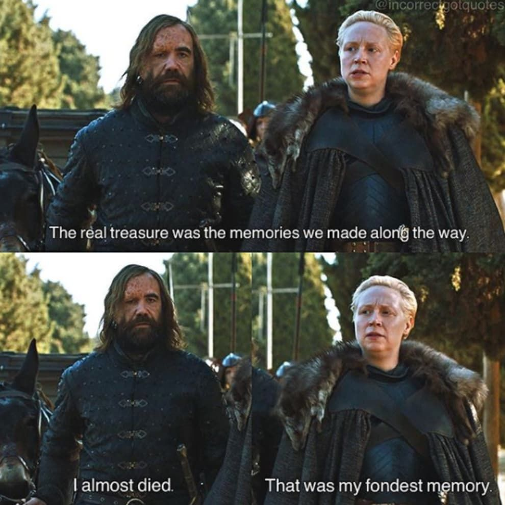 """Game Of Thrones Friendship Quotes: These """"Game Of Thrones"""" Photos Paired With Incorrect"""