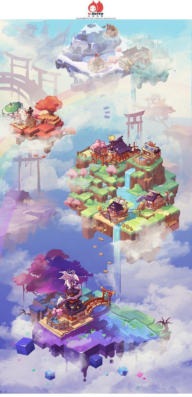 游戏原画CG插画动漫火源兄... Pixel art, Art, Game art
