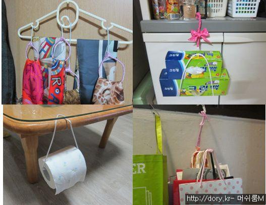 세탁소 옷걸이 활용 - Google 검색
