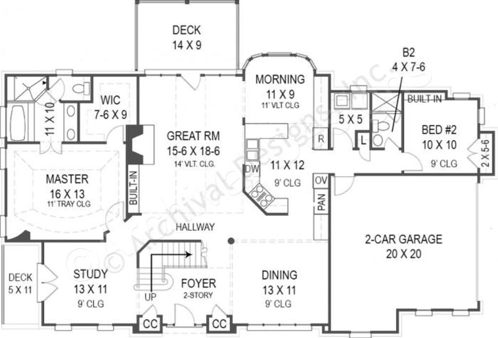 Adare Manor House Plan House Plans Retirement House Plans Luxury House Designs