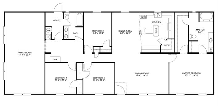 Clayton Homes 8 Mobile Home Floor Plans Modular Home Plans Micro House Plans