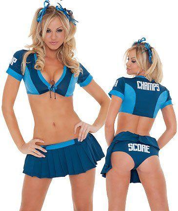 Sexy cheerleader follies
