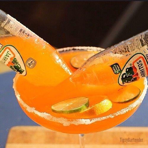 Orange Bulldog Margarita Recipe!