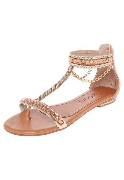 53c9f3981cd A correntinha dá um charme Sapatos Sandálias